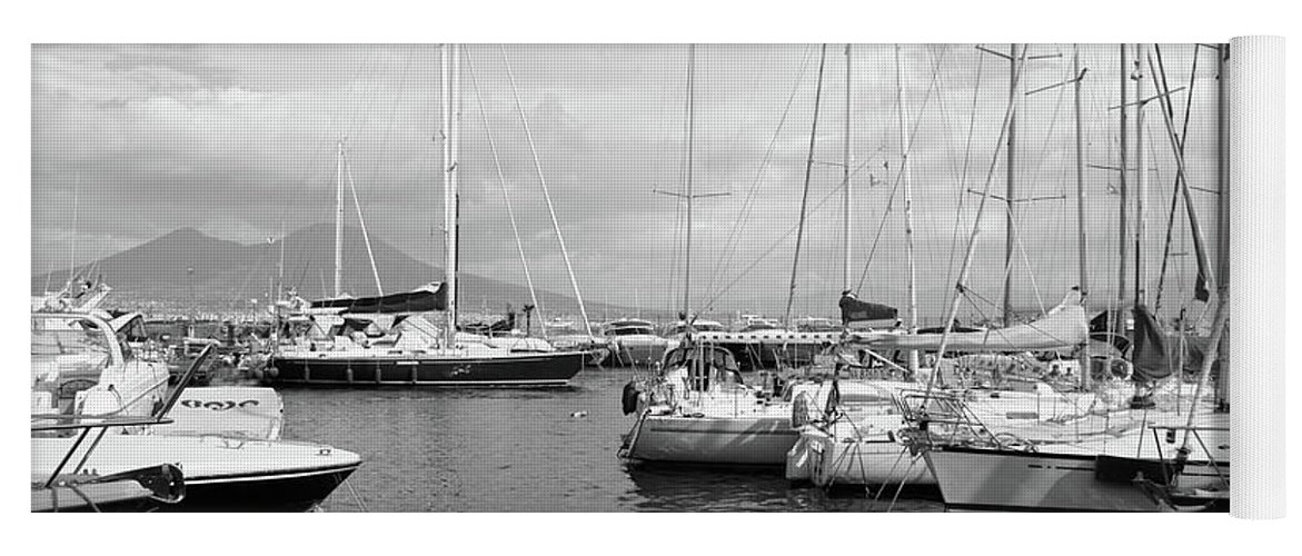 Boats Yoga Mat featuring the photograph Boats Meeting by La Dolce Vita