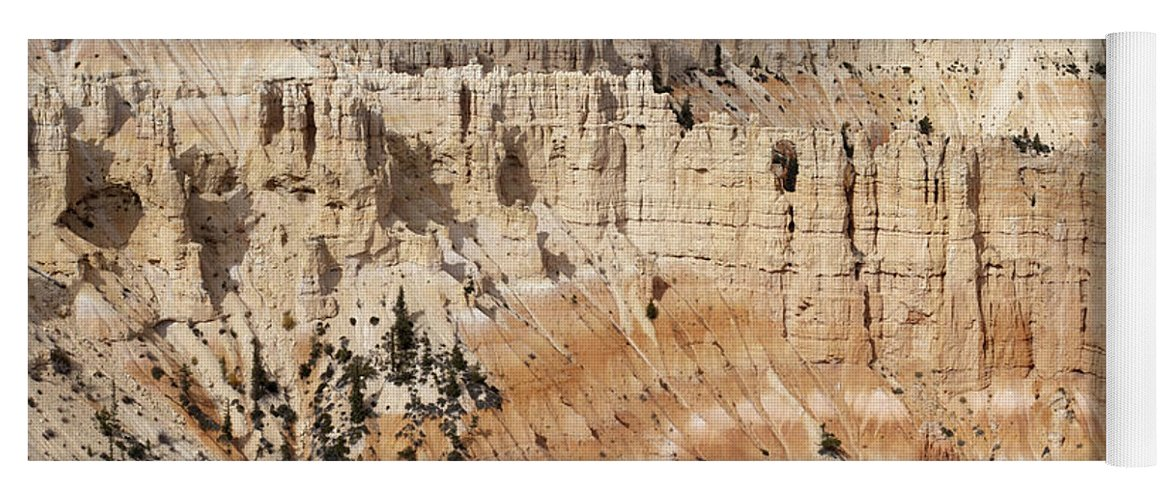 Sandra Bronstein Yoga Mat featuring the photograph Bryce Canyon Vista by Sandra Bronstein