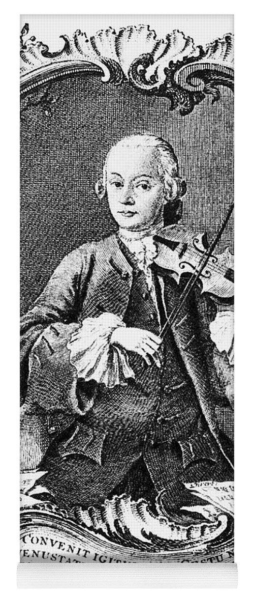 Leopold Mozart (1719-1787) Yoga Mat