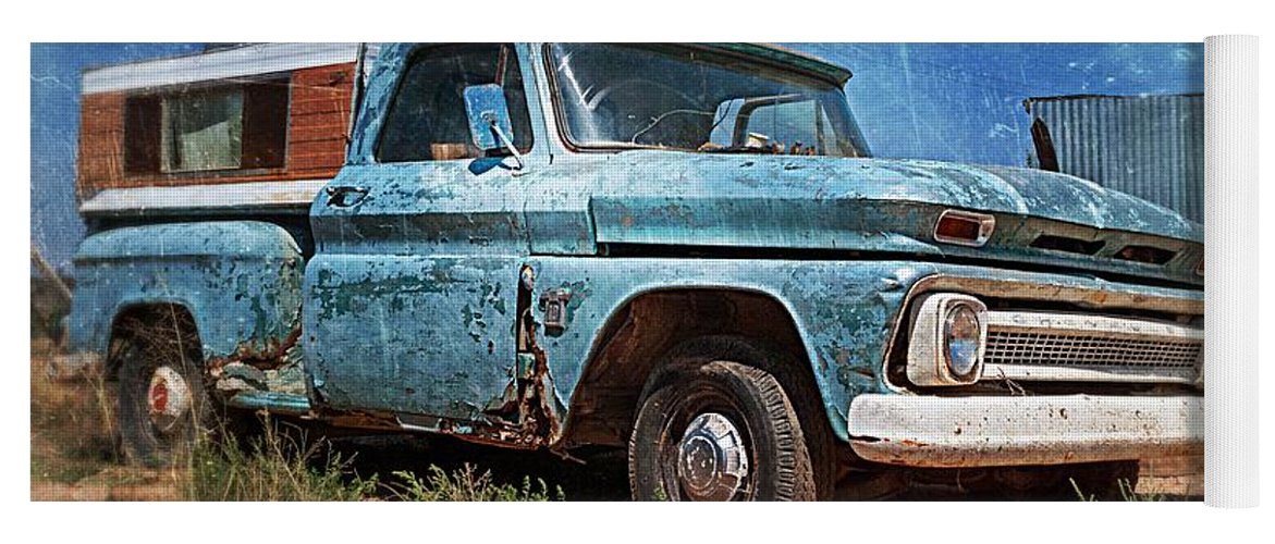 Old Chevy Pickup Yoga Mat for Sale by Matt Suess