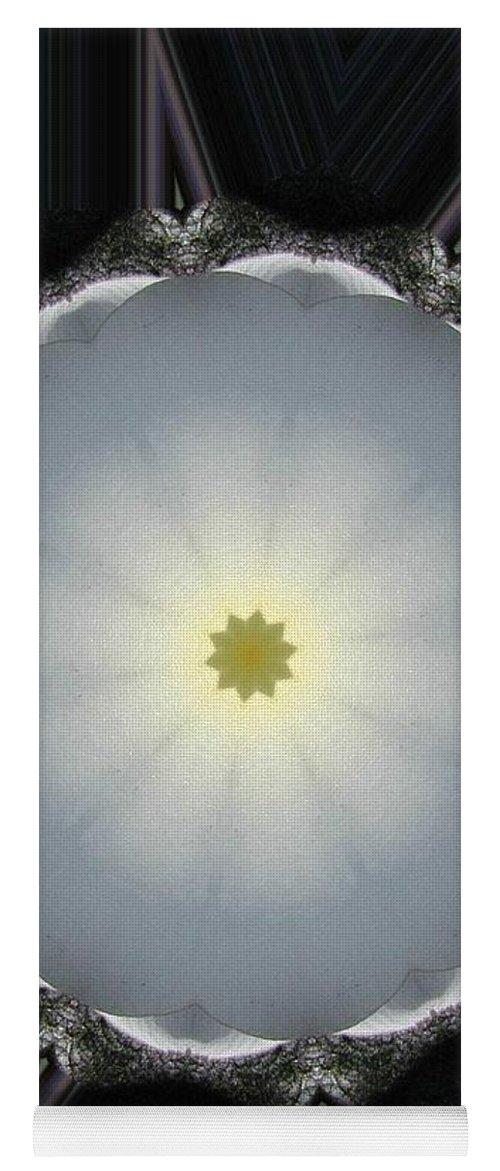 Digital Design Yoga Mat featuring the photograph Plumeria 5 by Mark Gilman