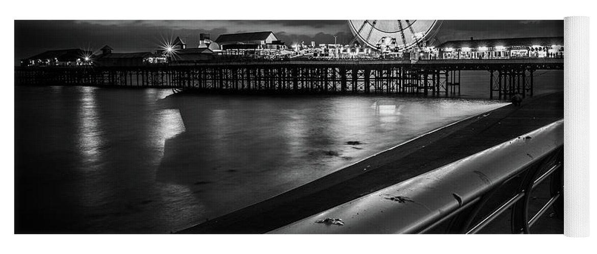 Central Pier Yoga Mat featuring the photograph Central Pier 1 by Mark Mc neill