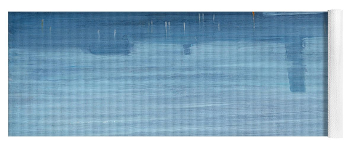 19th Century American Painters Yoga Mat featuring the painting Nocturne Blue And Silver Chelsea by James Abbott McNeill Whistler