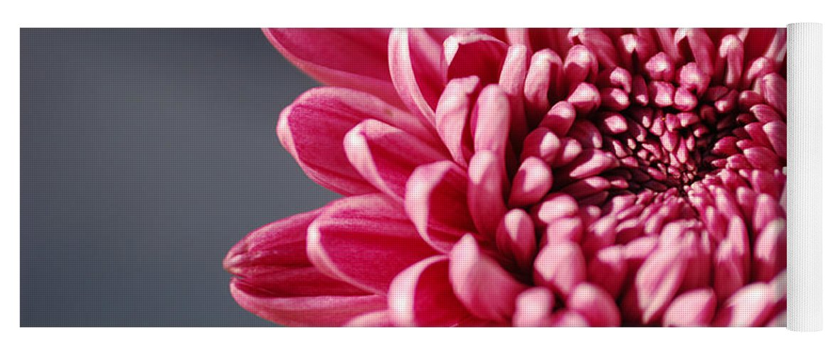 Flower Yoga Mat featuring the photograph Pink Flower by Jill Reger