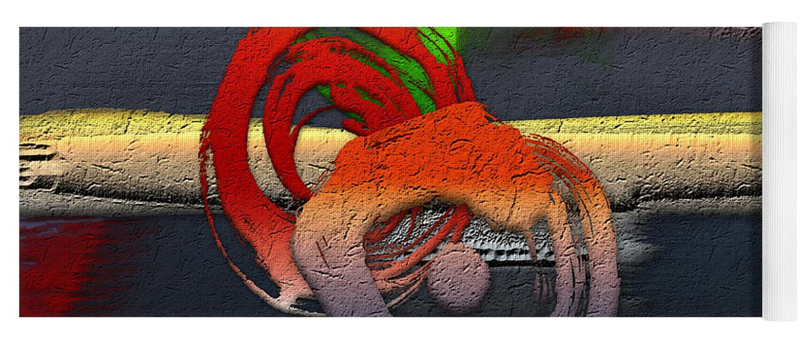 Abstracts Plus By Serge Averbukh Yoga Mat featuring the photograph The Night is Young by Serge Averbukh