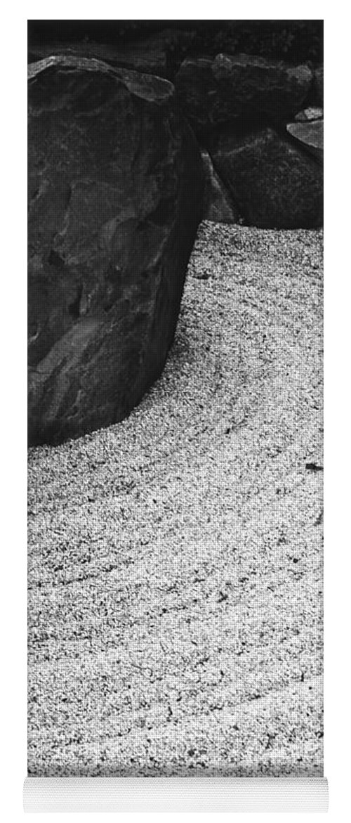 Yoga Mat featuring the photograph Zen Circle by Jamie Lynn