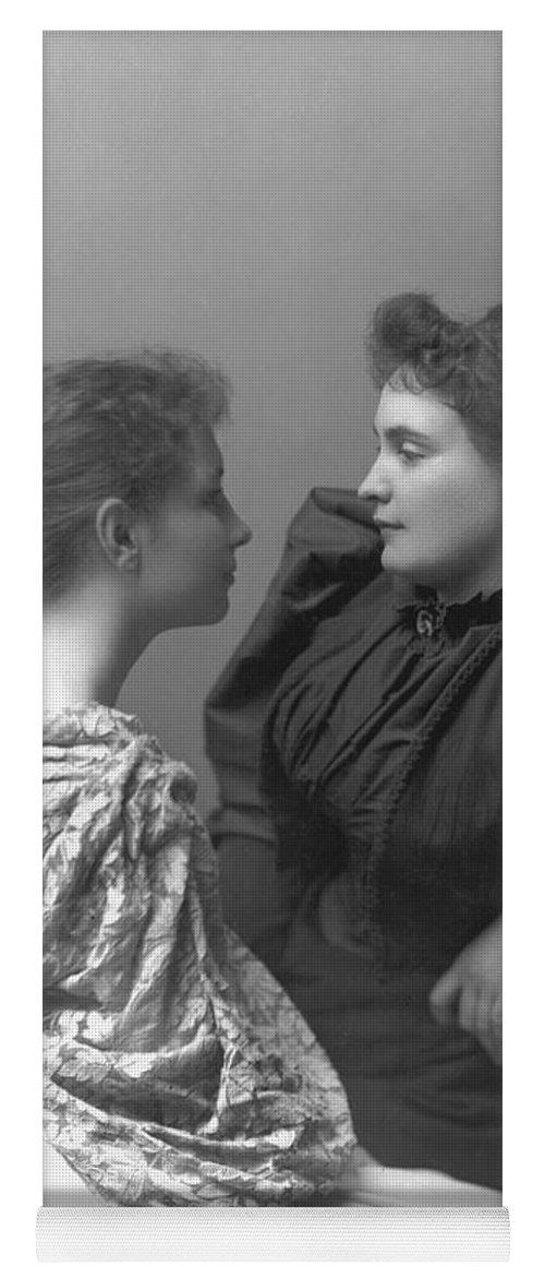 1893 Yoga Mat featuring the photograph Helen Adams Keller by Granger