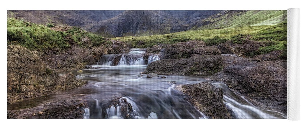 Fairy Pools Yoga Mat featuring the photograph Fairy Pools - Isle Of Skye by Joana Kruse