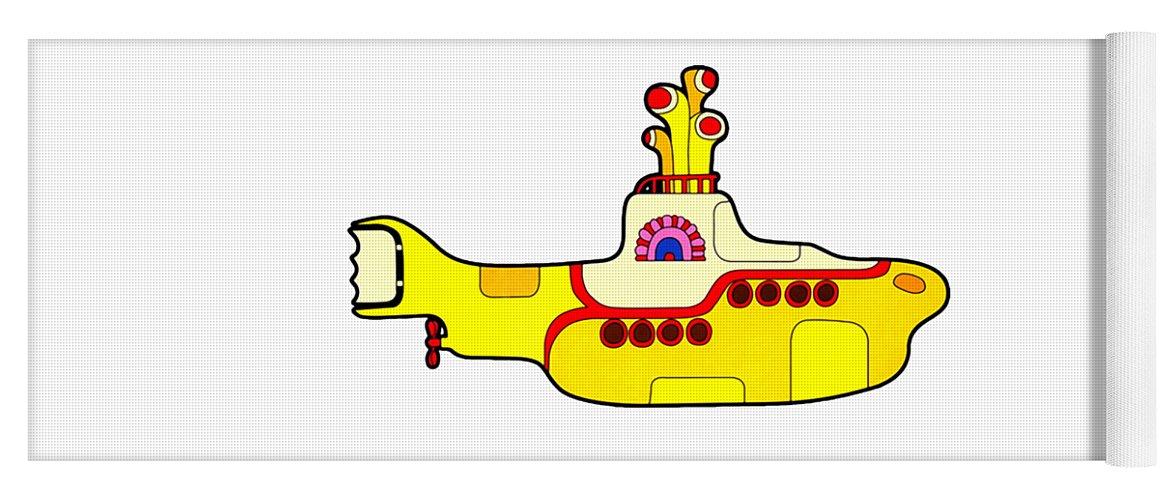 The Beatles Yoga Mat featuring the digital art The Beatles by Jofi Trazia
