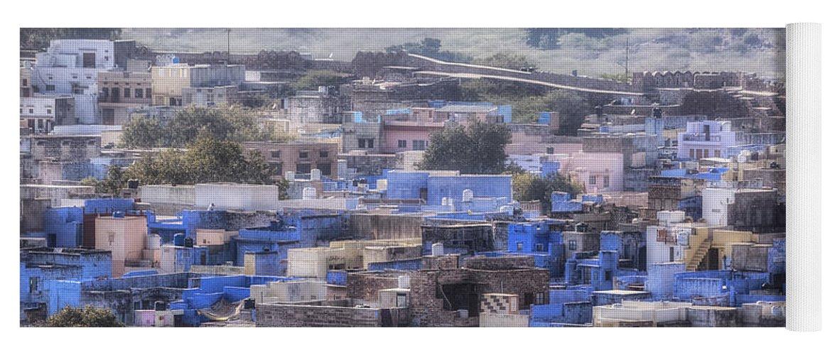 Jodhpur Yoga Mat featuring the photograph Jodhpur - India by Joana Kruse