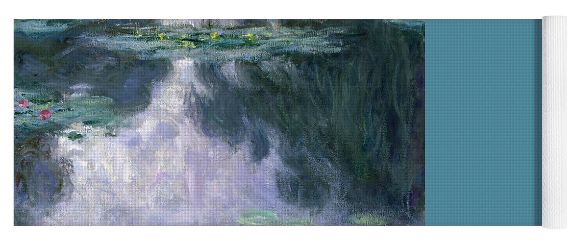 Nympheas Yoga Mat featuring the painting Waterlilies by Claude Monet
