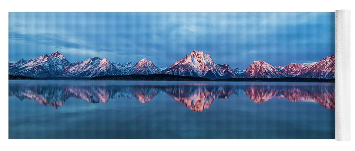 Jackson Yoga Mat featuring the photograph Grand Teton National Park by Twenty Two North Photography