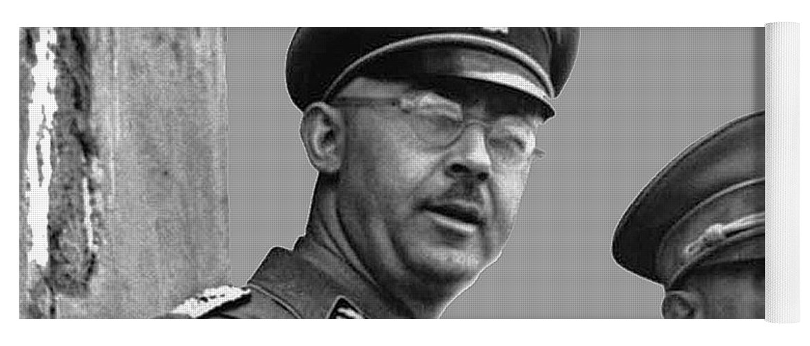 Adolf Hitler And Gestapo Head Heinrich Himmler Watching Parade Of Nazi  Stormtroopers 1940-2015 Yoga Mat