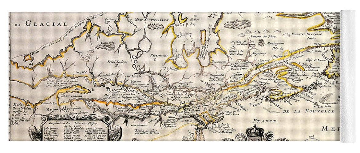 Antique Maps Of The World Map Of Canada Samuel De Champlain C 1677 on samuel de champlain birth country, samuel de champlain route, samuel de champlain flag, samuel de champlain books, samuel de champlain education, samuel de champlain voyages,