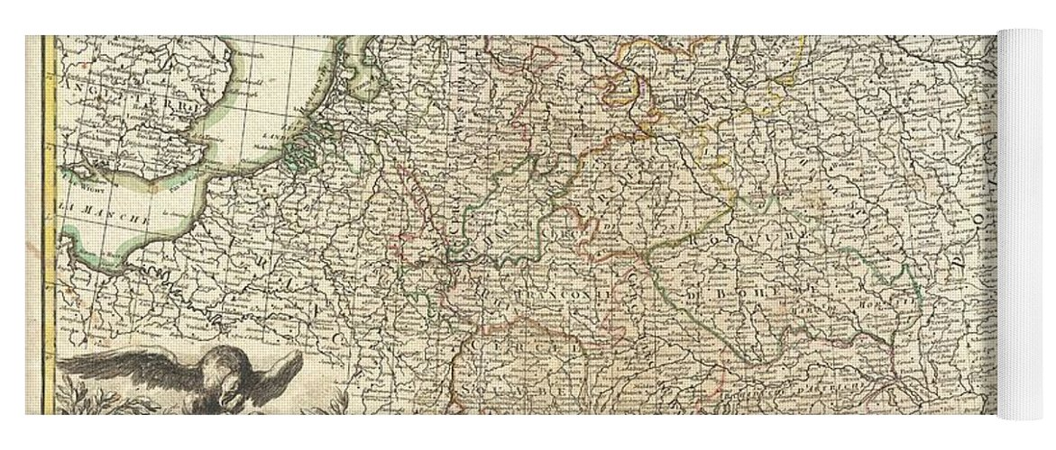 Antique Maps Old Cartographic Maps Antique Map Of Germany And