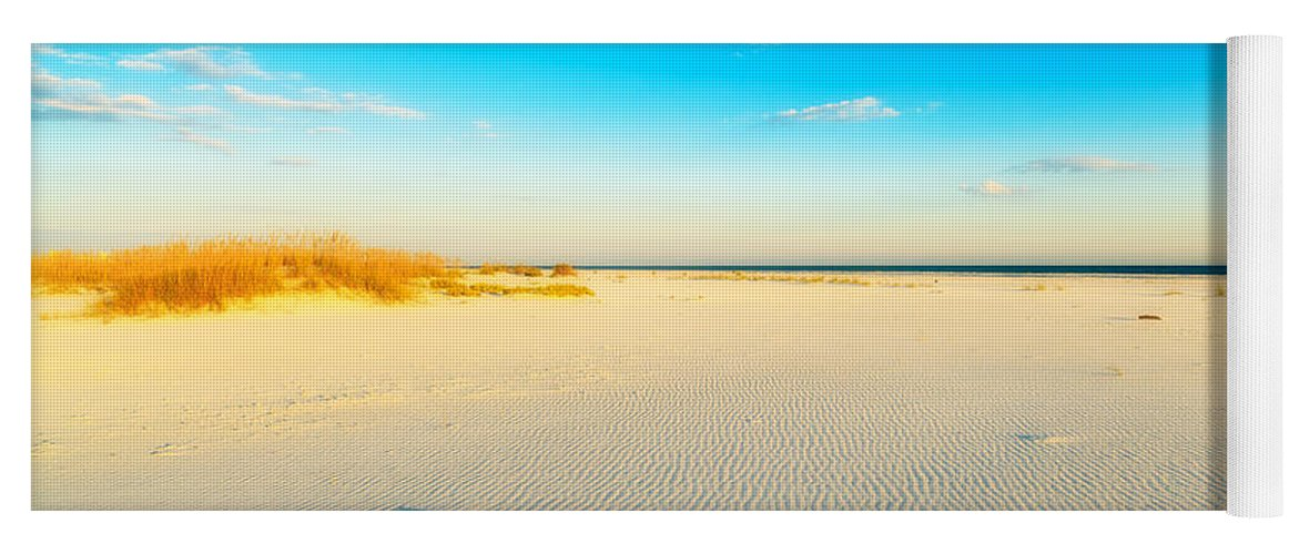 Florida Yoga Mat featuring the photograph Beautiful Beach by Raul Rodriguez