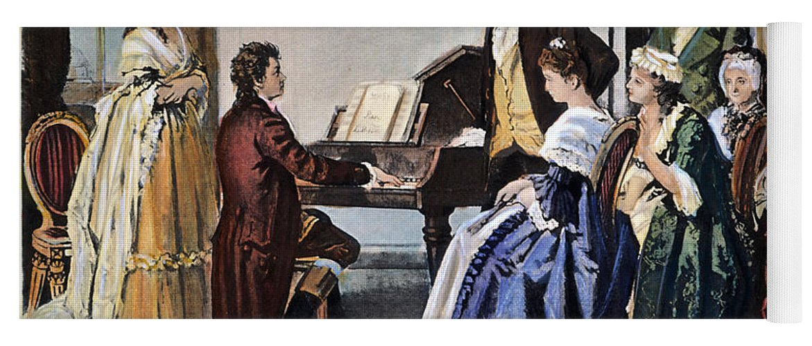 Beethoven & Mozart, 1787 Yoga Mat