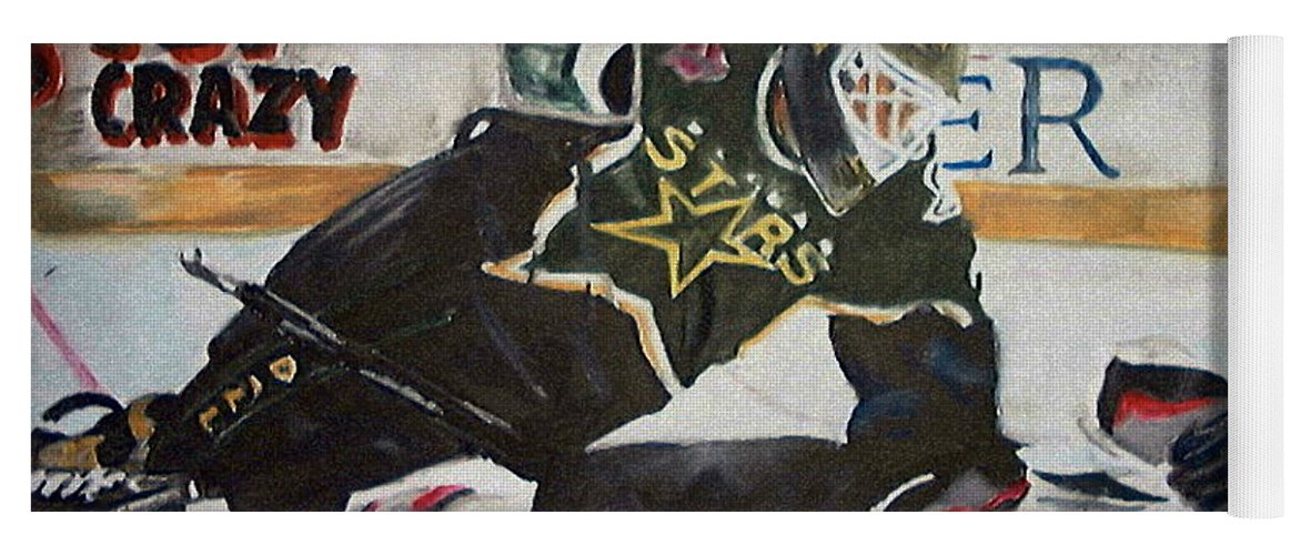 Belfour Yoga Mat featuring the painting Belfour by Travis Day