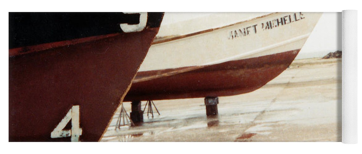 Boat Reflection Yoga Mat featuring the photograph Boat Reflection 2 by Cindy New