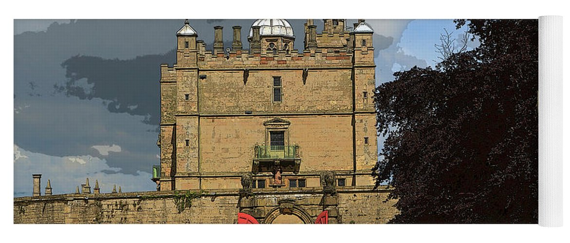 Castle Yoga Mat featuring the photograph Bolsover Castle by Louise Heusinkveld