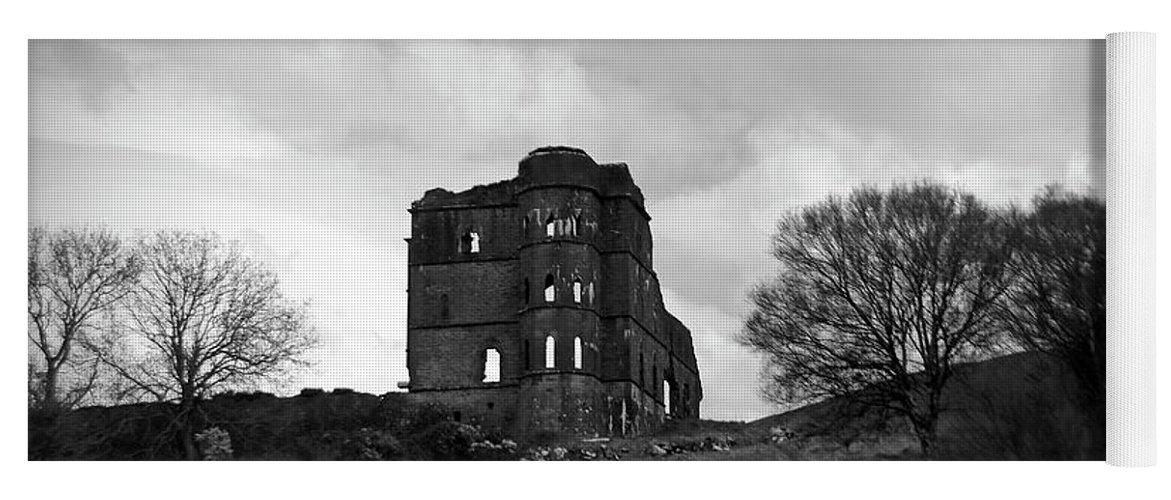 Castle Yoga Mat featuring the photograph Castle Ruin by Aidan Moran