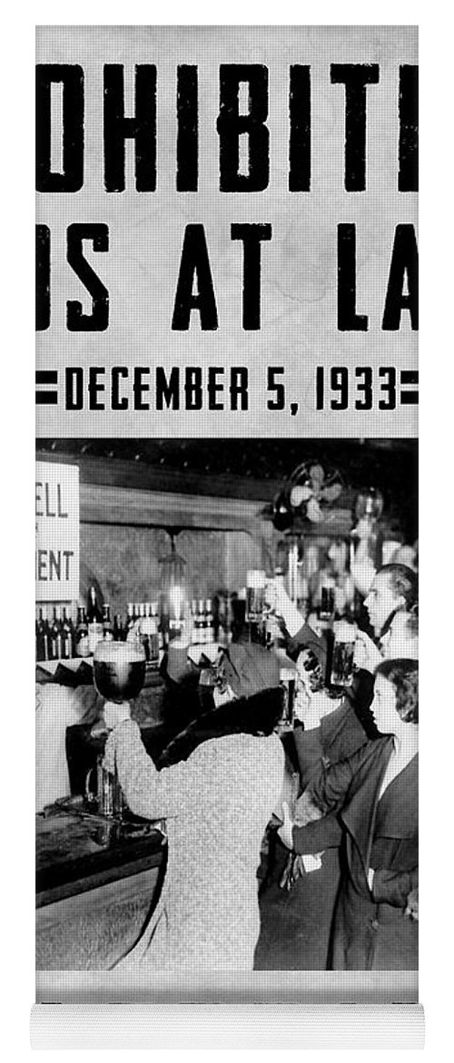 Prohibition Yoga Mat featuring the photograph Celebrate by Jon Neidert