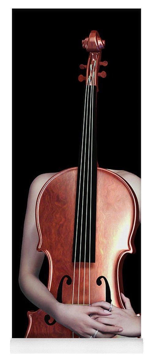 Cello Girl - 5 Yoga Mat for Sale by Prar Kulasekara