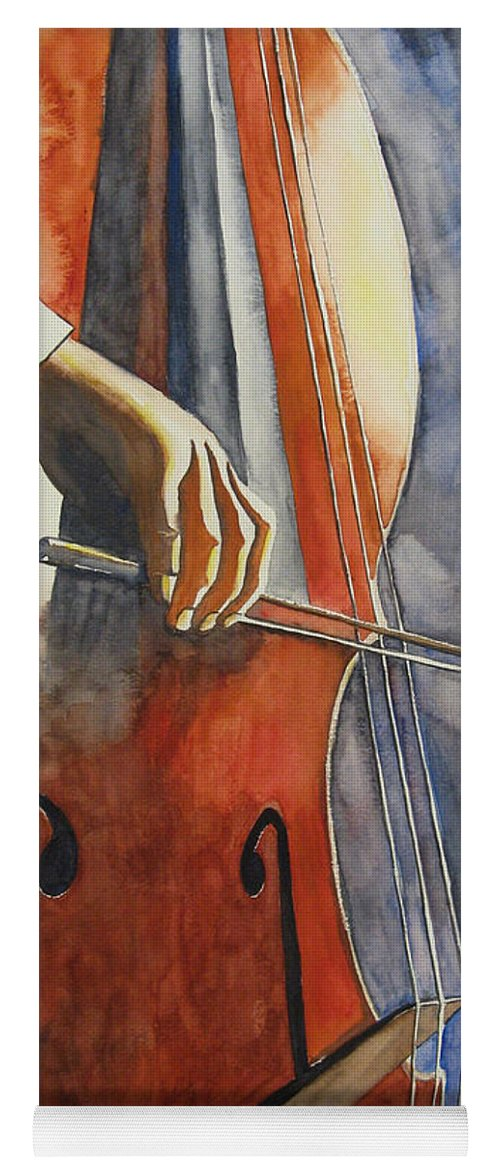 Cello Yoga Mat for Sale by Guri Stark