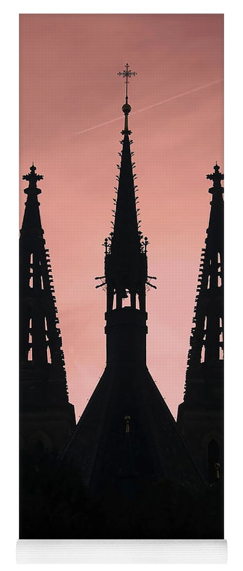 Church Yoga Mat featuring the photograph Chapter Church Of St Peter And Paul by Michal Boubin