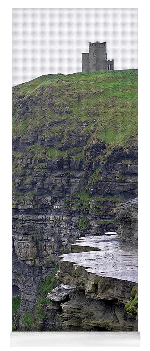 Cliff Yoga Mat featuring the photograph Cliffs Of Moher Ireland by Charles Harden