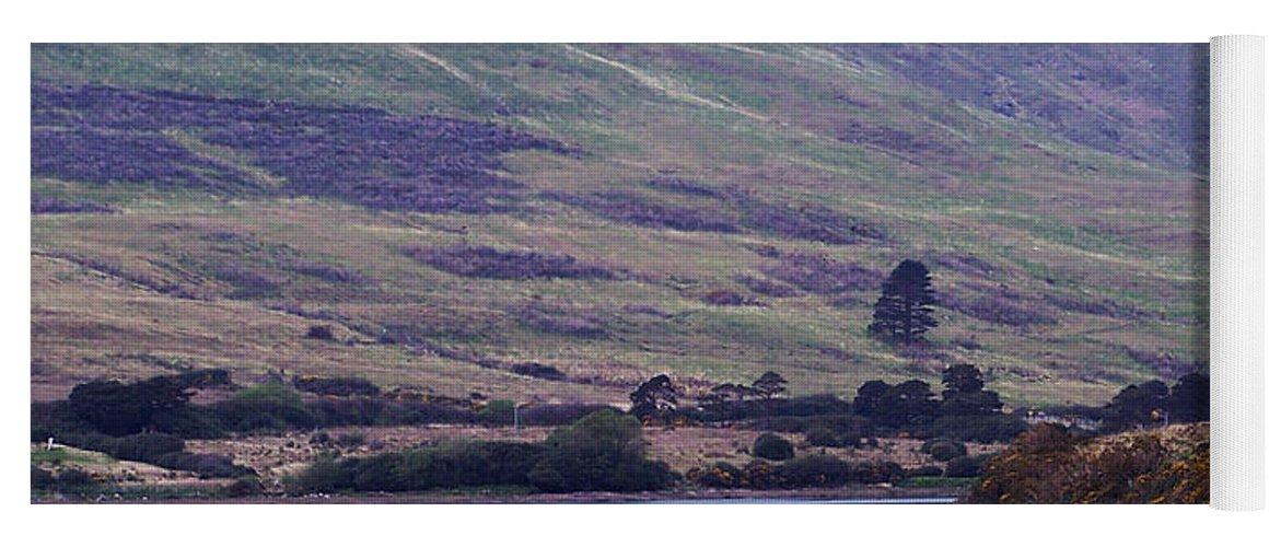 Landscape Yoga Mat featuring the photograph Connemara Leenane Ireland by Teresa Mucha