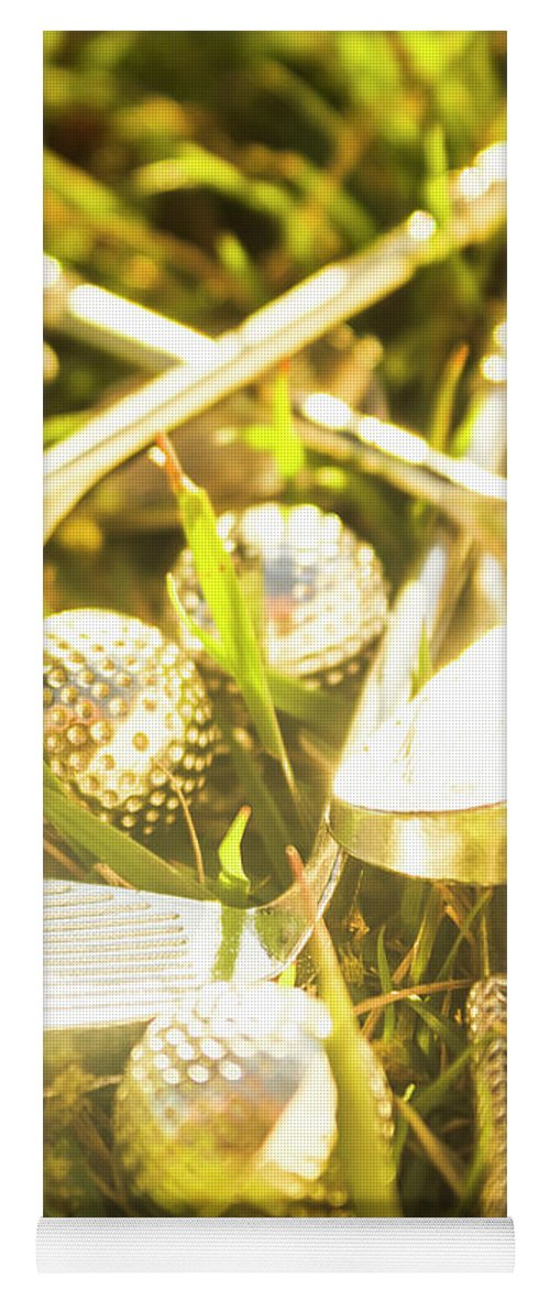 Golfers Yoga Mat featuring the photograph Country Golf by Jorgo Photography - Wall Art Gallery