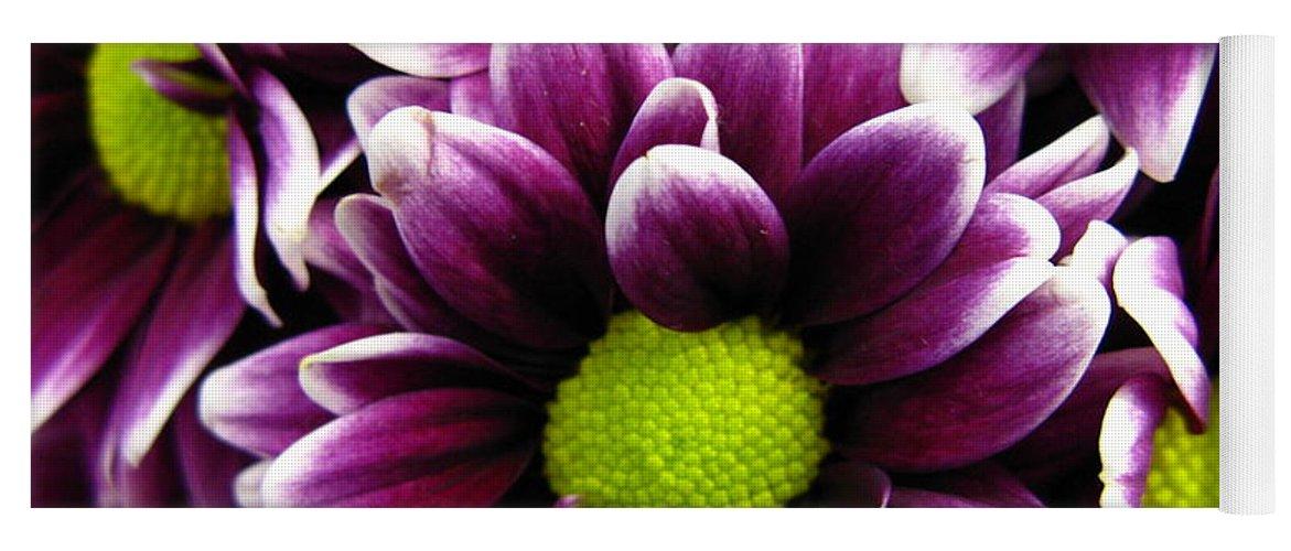 Purple Yoga Mat featuring the photograph Delicate Purple by Rhonda Barrett