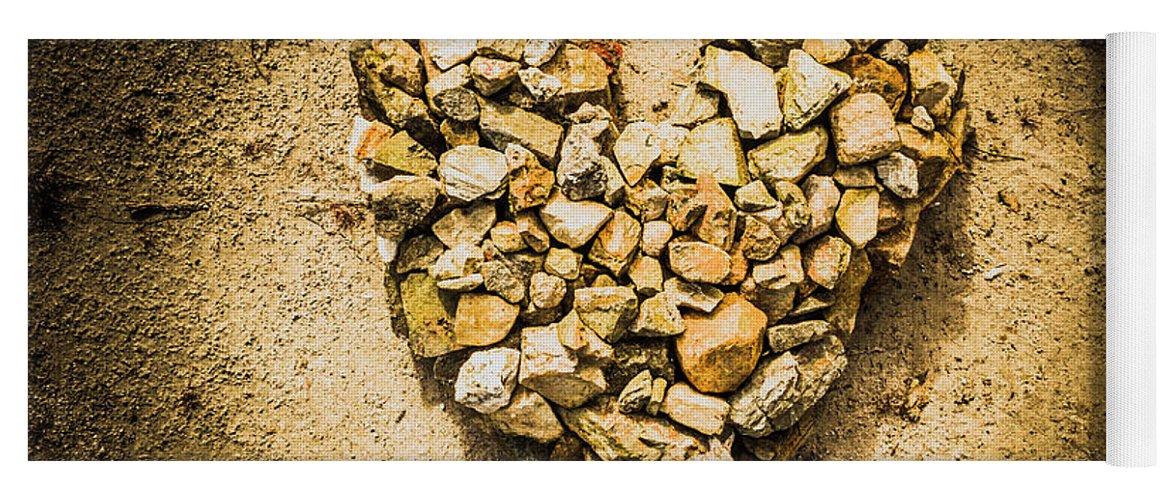 Heart Yoga Mat featuring the photograph Earthly Togetherness by Jorgo Photography - Wall Art Gallery