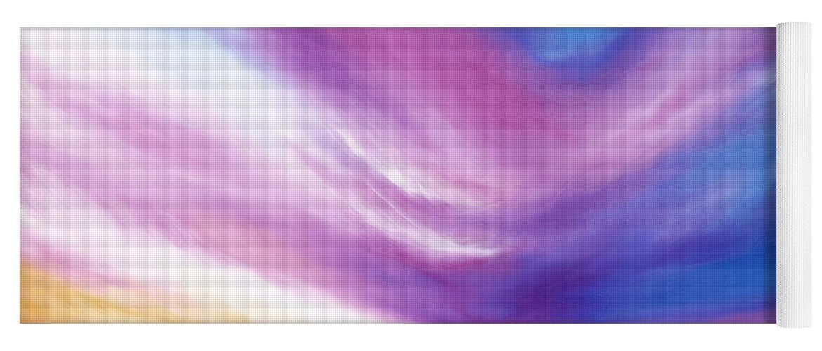 Clouds Yoga Mat featuring the painting Ecstacy by James Christopher Hill