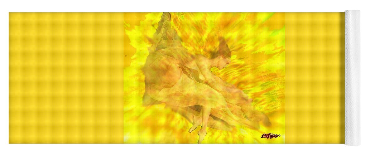 Joy Yoga Mat featuring the digital art Endless Joy by Seth Weaver