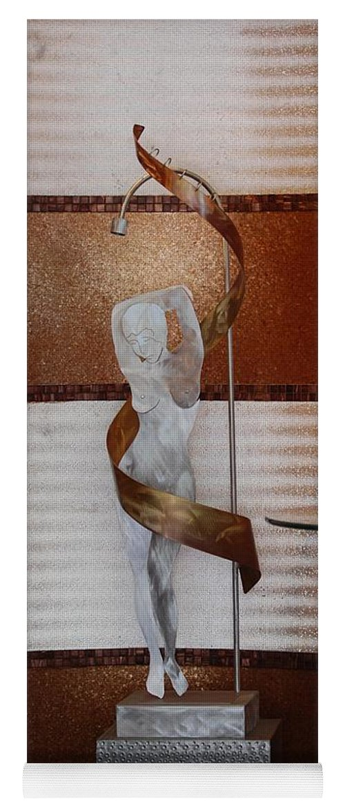Statue Yoga Mat featuring the photograph Erotic Museum Piece by Rob Hans