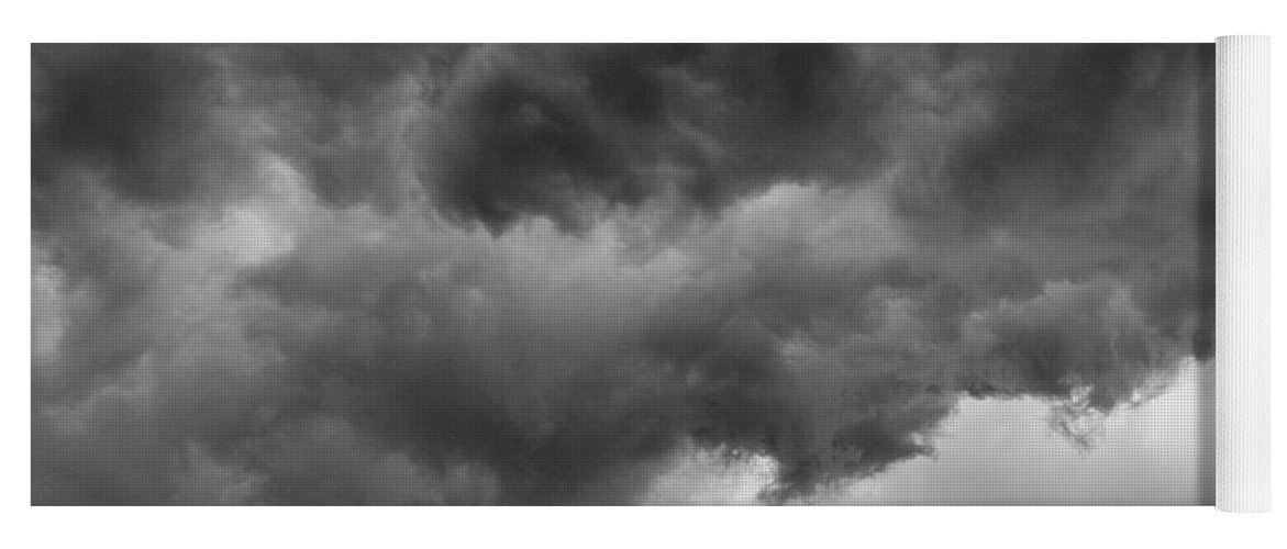 Clouds Yoga Mat featuring the photograph Faces In The Mist Of Chaos by ChelleAnne Paradis