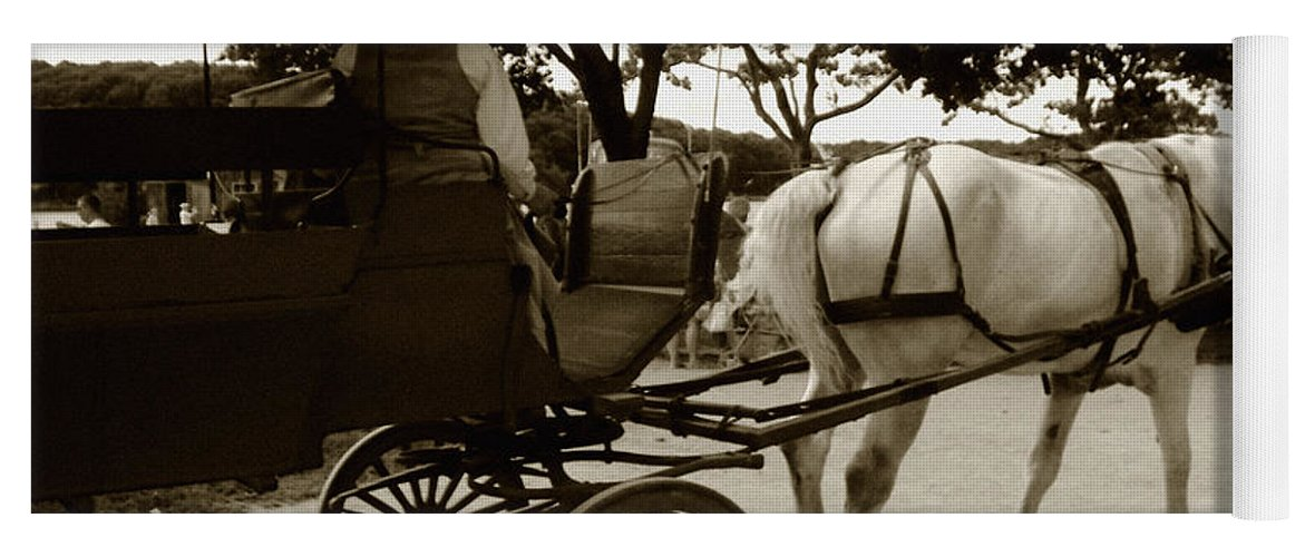 Driver Yoga Mat featuring the photograph Going Home by RC DeWinter