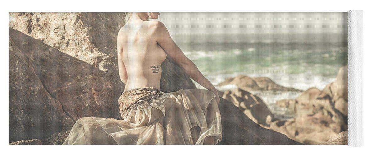 Tasmania Yoga Mat featuring the photograph Granville Harbour Tasmania Fine Art Beauty Portrait by Jorgo Photography - Wall Art Gallery