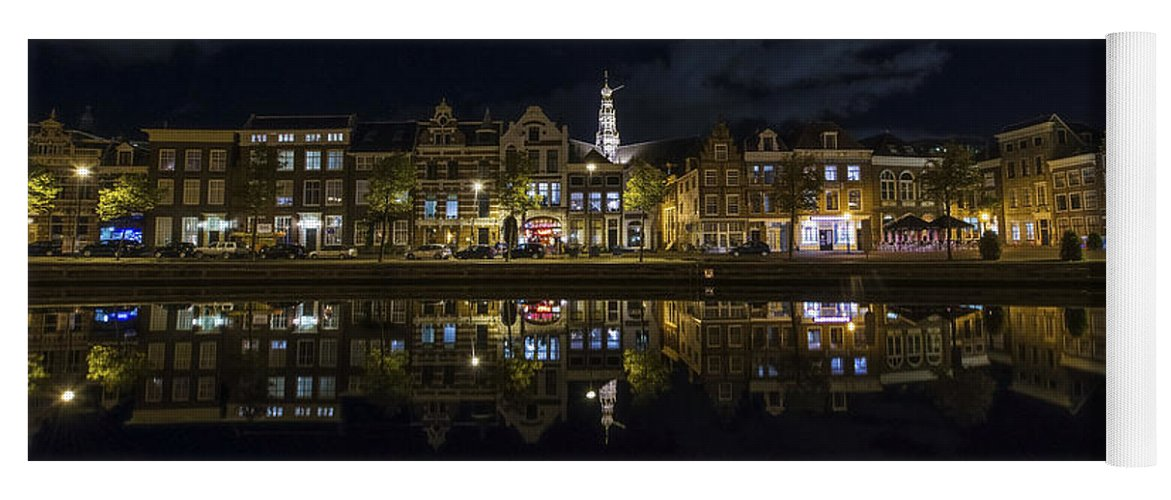 Haarlem Night Yoga Mat featuring the photograph Haarlem Night by Chad Dutson