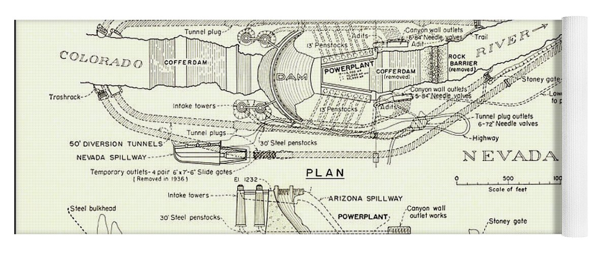 How The Hoover Dam Works Erkalnathandedecker