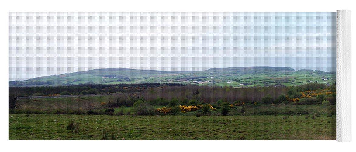 Ireland Yoga Mat featuring the photograph Horses at Lough Arrow County Sligo Ireland by Teresa Mucha