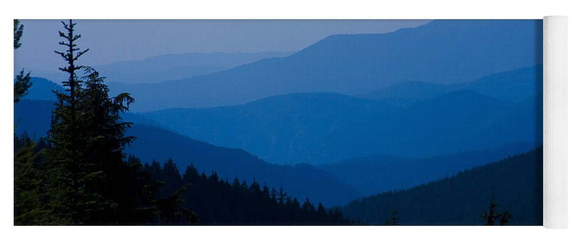 Mountain Yoga Mat featuring the photograph Infinity by Idaho Scenic Images Linda Lantzy