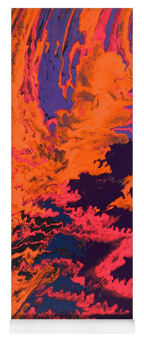 Fusionart Yoga Mat featuring the painting Initiative by Ralph White