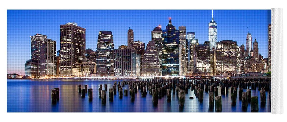 New York City Yoga Mat featuring the photograph Inspiring Stories by Az Jackson