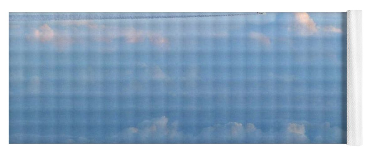 #jetspassing Yoga Mat featuring the photograph Jets Passing by Will Borden