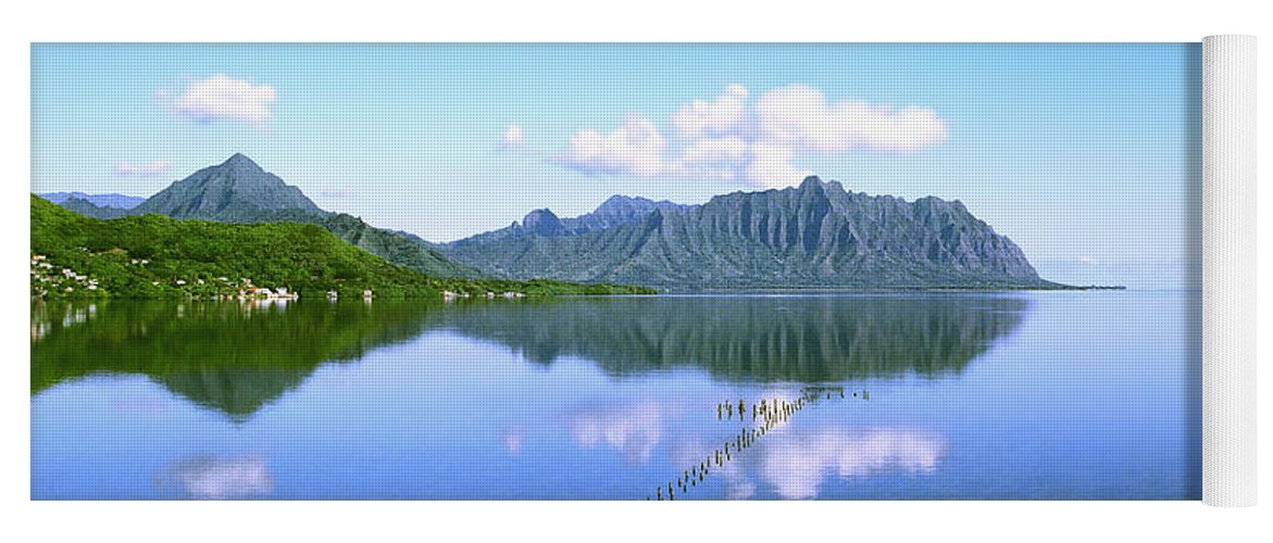 Kaneohe Bay Yoga Mat featuring the photograph Kaneohe Bay by Kevin Smith