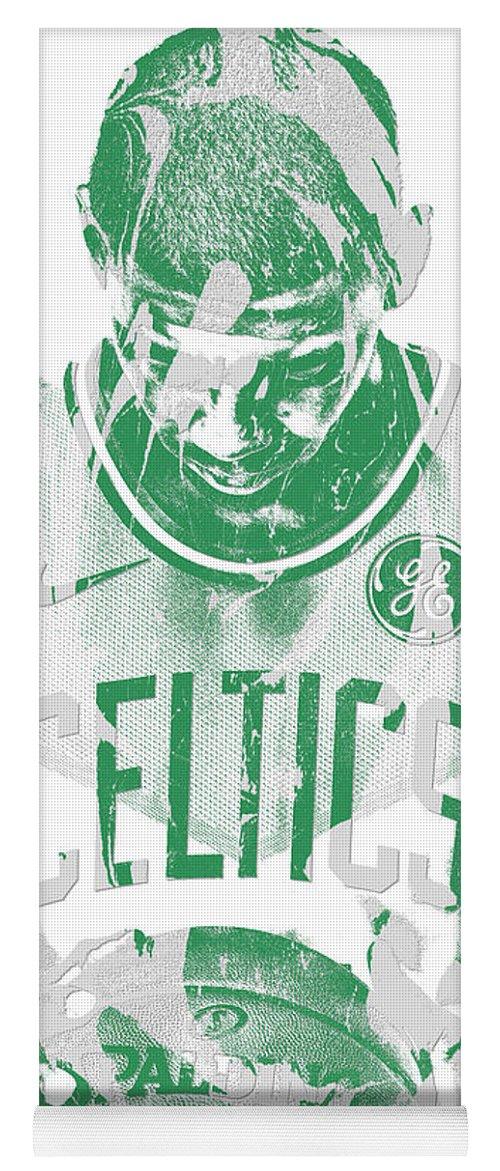 5bba71a4a38 Kyrie Irving Boston Celtics Pixel Art 5 Yoga Mat for Sale by Joe Hamilton