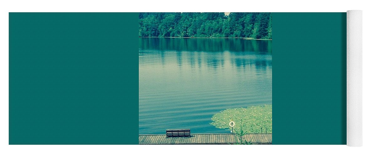 Lake Yoga Mat featuring the photograph Lake by Andrew Redford